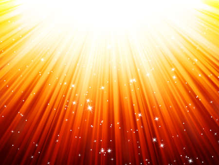 Sunburst rays of sunlight tenplate  EPS 10 vector file included