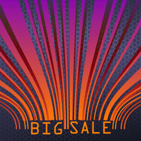 Big Sale bar codes all data is fictional  EPS 10 vector file included Stock Vector - 20183848