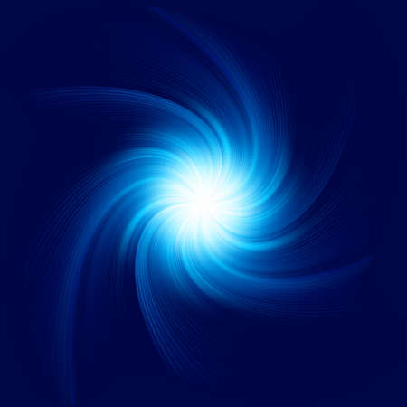 Blue Twirl Background. vector file included Vector