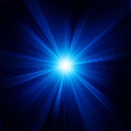 Conception de la couleur bleue avec un sursaut.