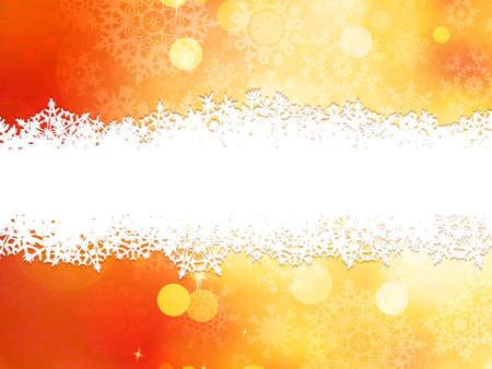 Christmas background with copy space. Vector