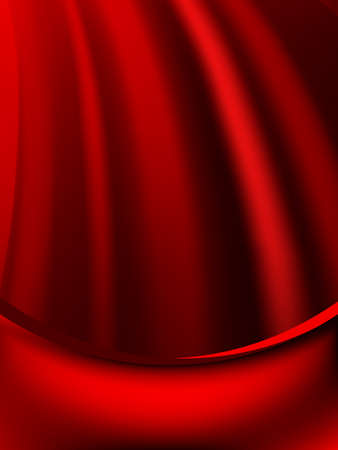 Red curtain fade to dark card. Stock Vector - 21316276