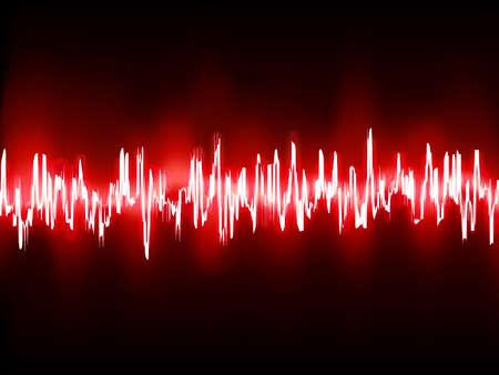 Elektronischen Sinus-Sound-oder Audio-Wellen.