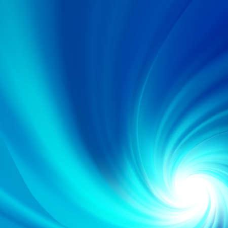 Blue rotation water.  Illustration