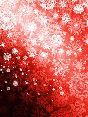 fizz: Christmas background with snowflakes.