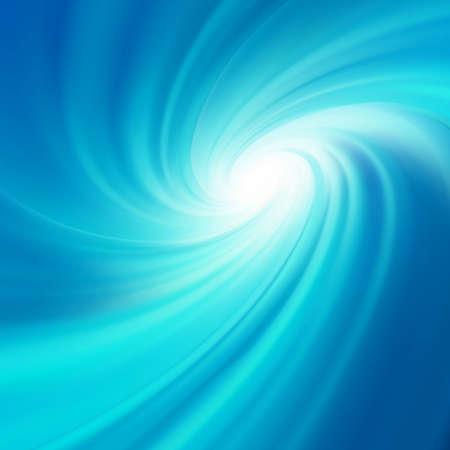 water vortex: Blue rotation water.  Illustration