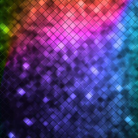 bright colors: Glitters on a soft blurred background with smooth highlights.