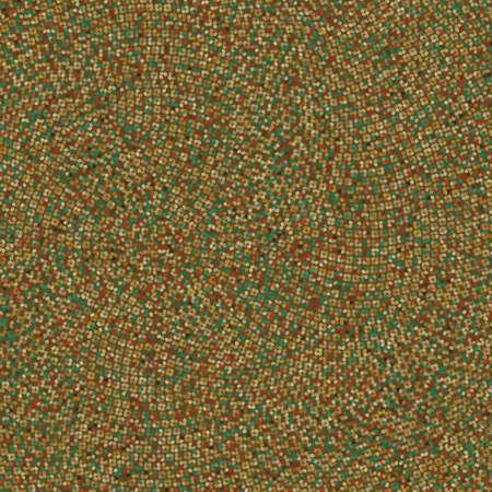 absract art: Vintage polka rosette texture
