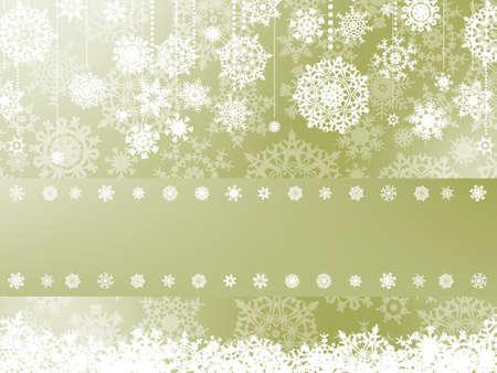 Elegant christmas background with christmas snowflake  Illustration