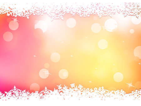 includes: Christmas pink background with snow flakes. And also includes EPS 10 vector