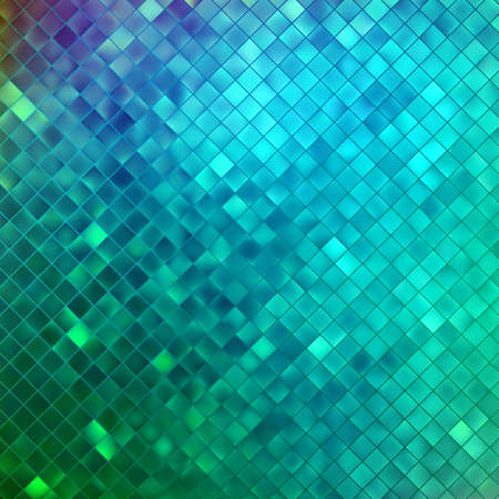 Blue glitters on a soft blurred background with smooth highlights. Vector