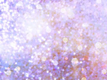 Abstract background of defocused beidge lights. glitter background.