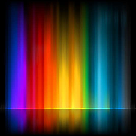 Aurora Borealis  Colorful abstract background