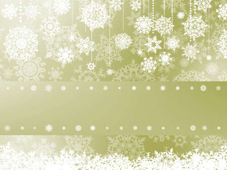 Elegant christmas background with christmas snowflake  EPS 8 vector file included