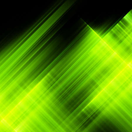 Bright luminescent green surface.