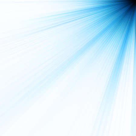 Abstract burst on white, easy edit