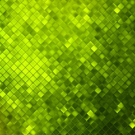 Green glitters on a soft blurred background with smooth highlights