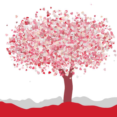 wedding love: Love card design  Wedding or Valentine vector
