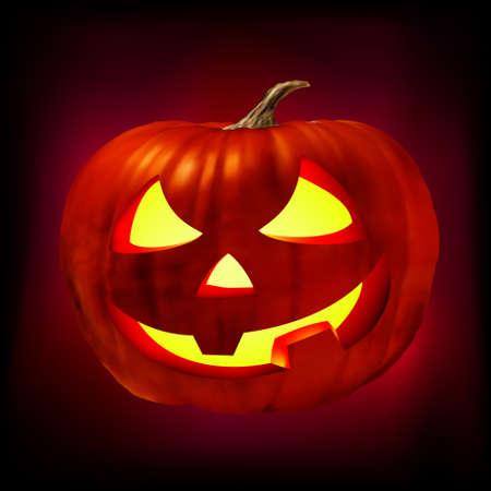 jack o: Scary Jack O Lantern.