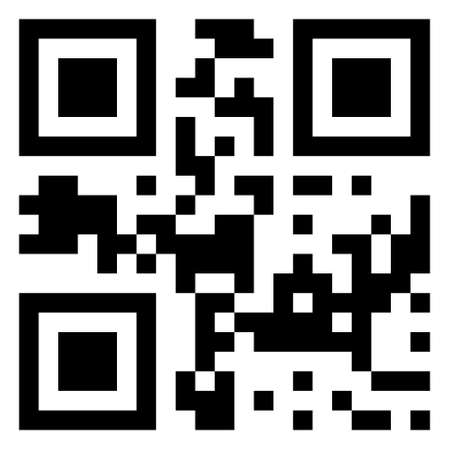 bar codes:   QR code with desc Sale Illustration