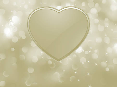 Vector bokeh valentine card  EPS 8 vector file included Vector