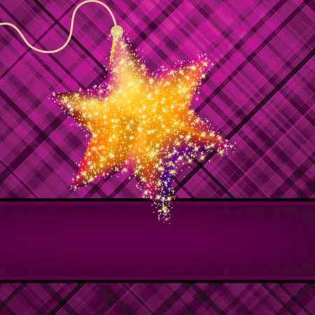 estrellas de navidad: Estrellas de la Navidad en fondo verde EPS 8 archivo vectorial incluido Vectores