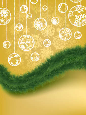 Merry Christmas Elegant Background  EPS 8 vector file included Vector