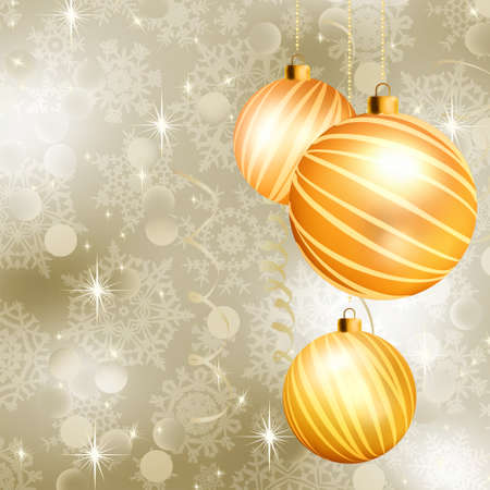 glimmered: Soft light christmas background with neutral colors  EPS 8 vector file included Illustration