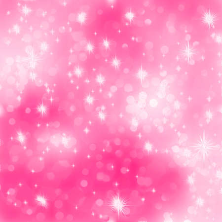 Roze abstracte romantische achtergrond met sterren EPS 8 vector bestand opgenomen