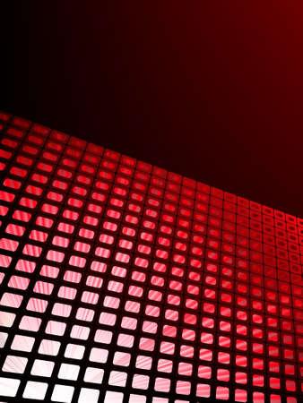 er: Red waveform vector background  EPS 8 vector file included Illustration
