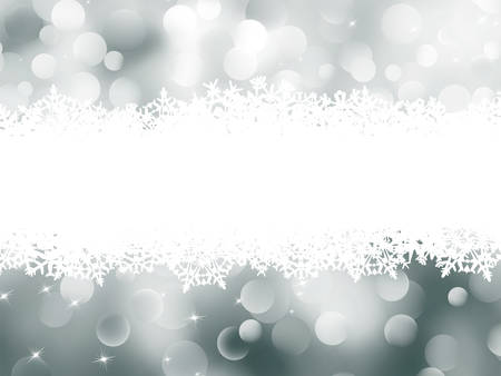 Abstract Winter background  Christmas abstract bokeh card  EPS 8 vector file included