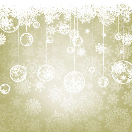 Beautiful elegant happy Christmas card,winter holiday background  EPS 8 vector file included