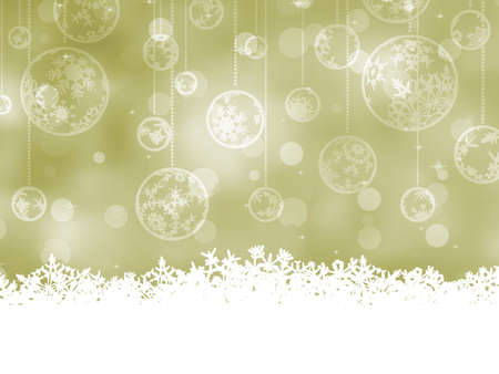 Elegant Christmas Baubles  EPS 8 vector file included