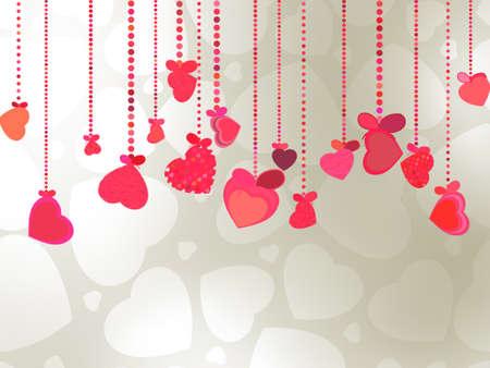 amur: Elegant Valentine s or wedding illustration  EPS 8 vector file included Illustration