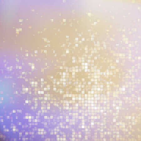 Glitters on a soft blurred background with smooth highlights  Vector