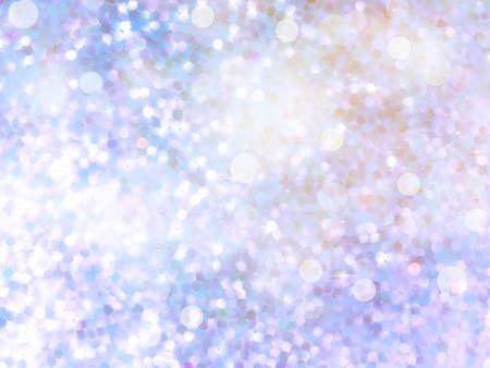 Glitters on a soft blurred background with smooth highlights.