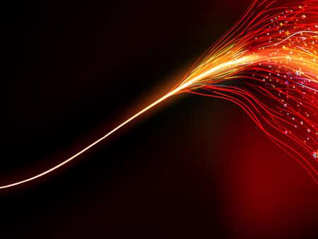 Energy design against dark background.  Vector