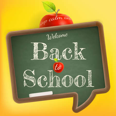 Welcome back to school. Illustration
