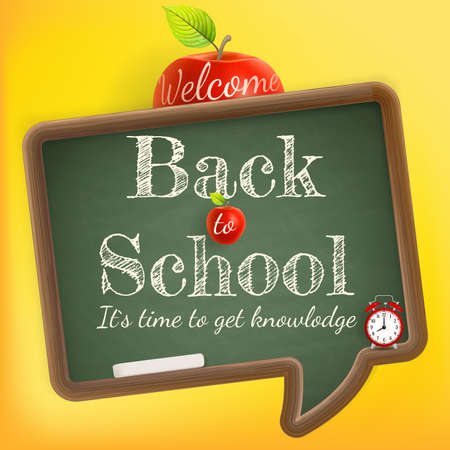 green back: Welcome back to school.