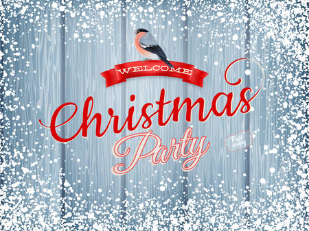 free christmas background: Winter holidays decoration with bullfinch. EPS 10 vector file included