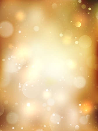 event: Christmas Golden Holiday Abstract Glitter Defocused Background. EPS 10 vector file included