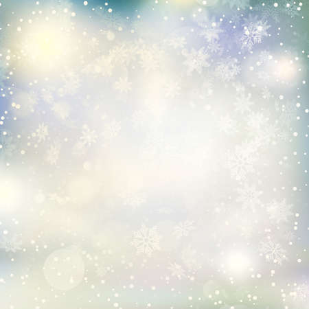 blurred lights: Lights on Christmas background.