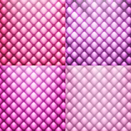 leather furniture: Luxury texture of pink leather furniture with buttons. It is easy to change colour.