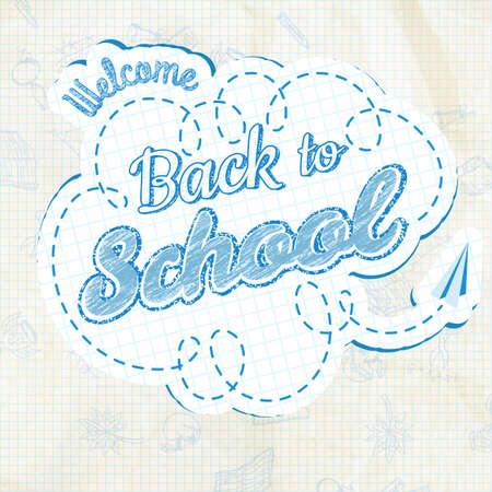 calligraphic design: Back to School Calligraphic Design.