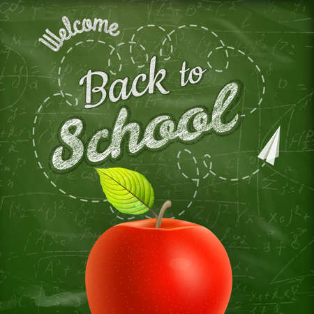 semester: Back to school background. EPS 10 vector file included