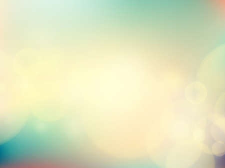 ethereal: Abstract background with bokeh defocused lights and shadow. Illustration