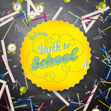 back to school: Back to school background.