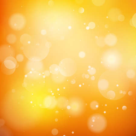 amarillo: Fondo abstracto de colores naranja. Vectores