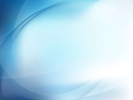 Blue Light Wave Abstract Background.