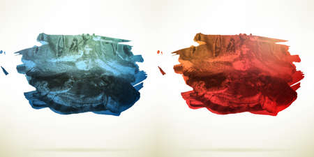 steady: Abstract Watercolor background with copy space.  vector file included